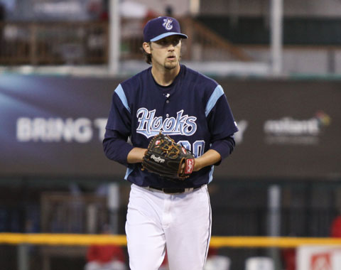 Ross Seaton pitched four shutout innings out of the bullpen and allowed just one hit to go with five strikeouts.