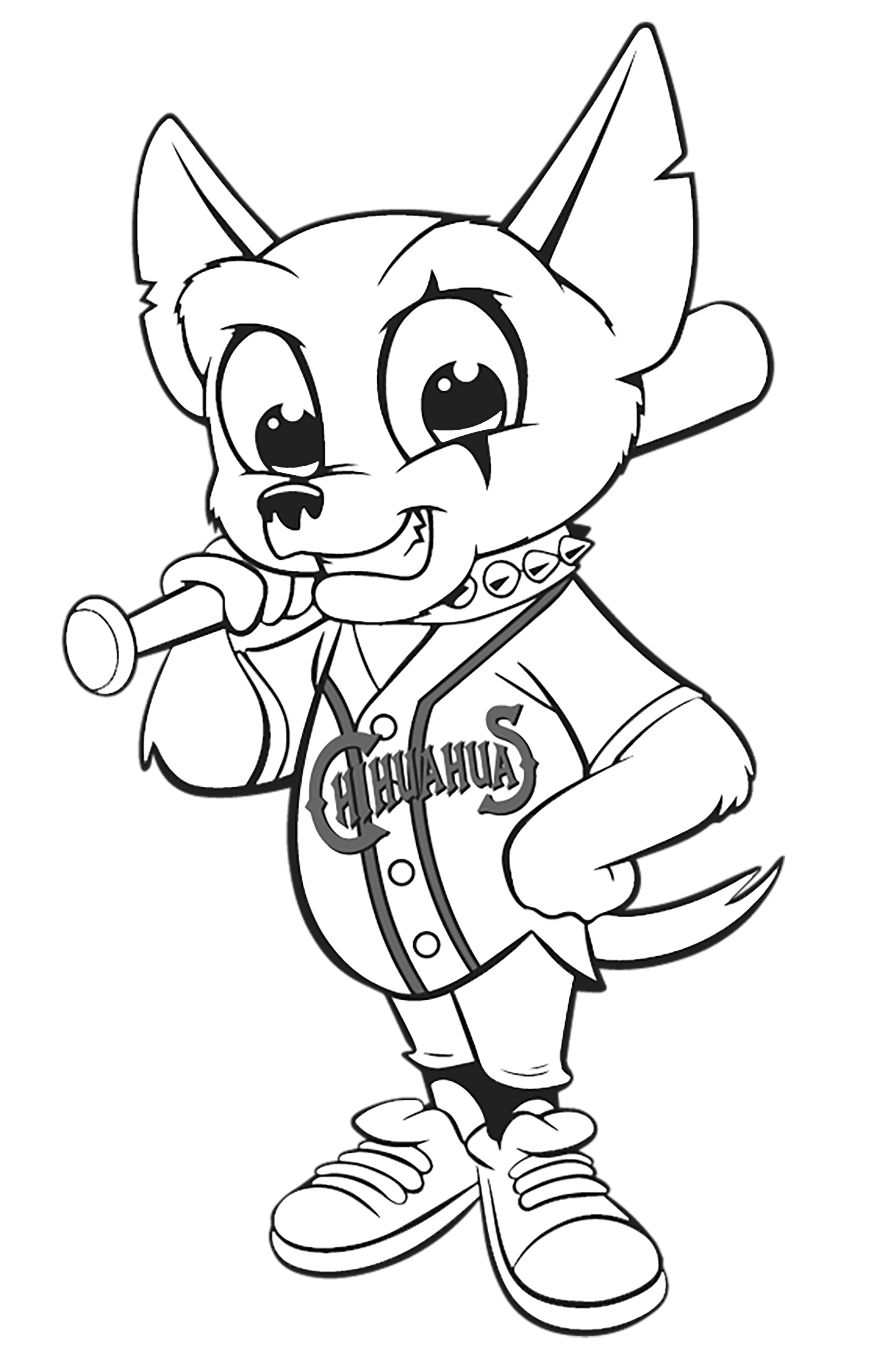 nationals mascot coloring pages - photo#21