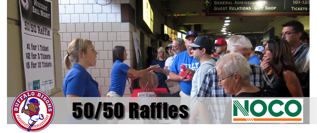 Buffalo Bisons 50/50 Raffles