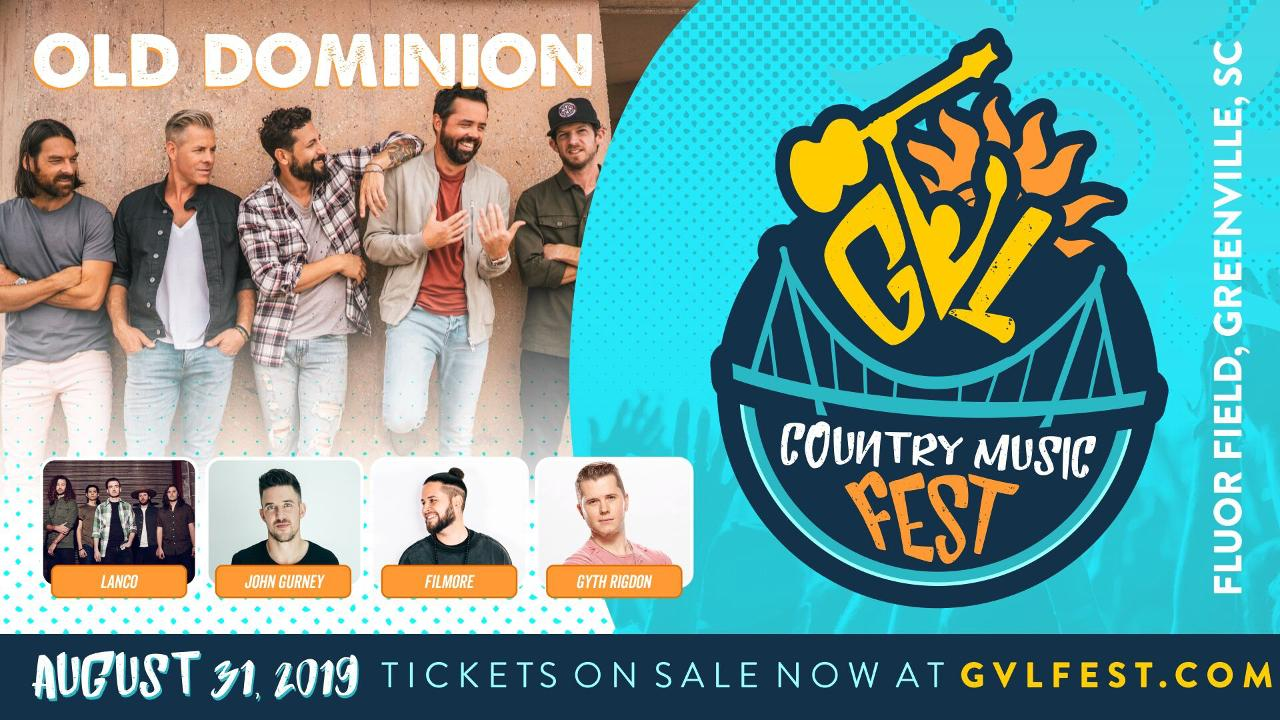 Old Dominion to Headline Major Concert at Fluor Field