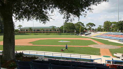 The Dodgers trained in Vero Beach, Fla., for more than 60 years.