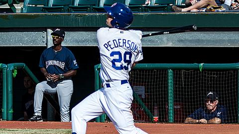 Joc Pederson leads the league in OPS at .993