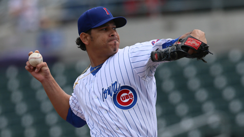 Guillermo Moscoso has won his last three starts and will be on the mound for the Cubs tonight in Albuquerque.