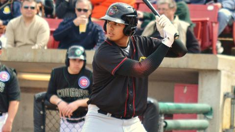 Rio Ruiz is batting .350 with five RBIs in six playoff games.