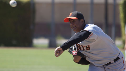 Adalberto Mejia struck out 8.9 batters per nine innings in 2013.