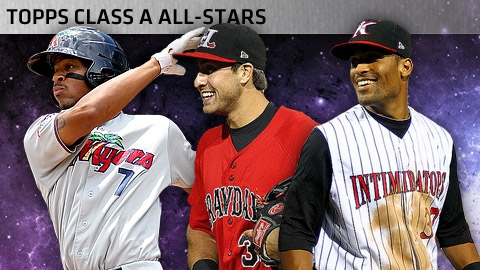 Byron Buxton, Joey Gallo and Micah Johnson were among the top performers at the Class A level.