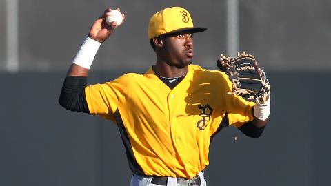 Alen Hanson has made 15 errors this season, but only two since May 1.