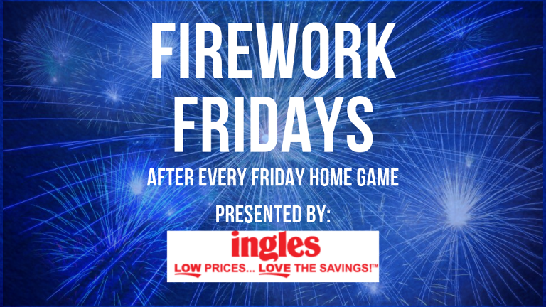Fireworks Fridays Banner
