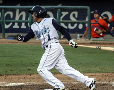 Shortstop Ronny Torreyes grounded a two-run single up the middle to put Corpus Christi on the board in the fifth inning.