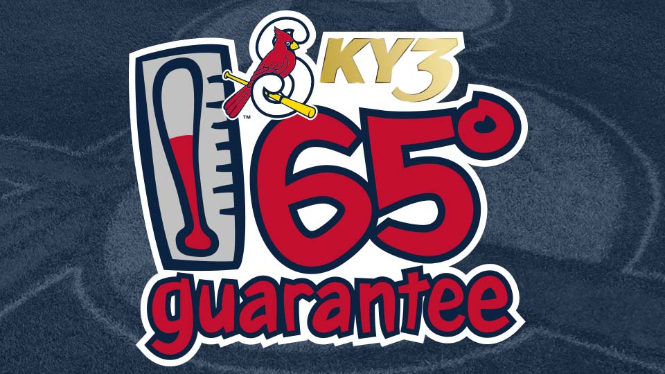 Cardinals and KY3 65-Degree Guarantee for Opening Day