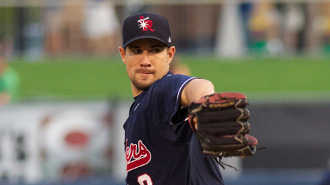 Former Driller pitcher Brandon Hynick haunted his former team Thursday night as he gave up just a single hit over seven shutout innings leading the Arkansas Travelers to a 2-0 win over the Drillers at ONEOK Field.