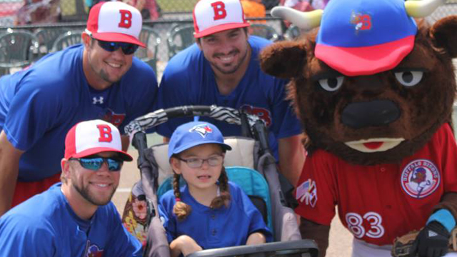 Bisons Play Ball With Miracle League Akron Rubberducks News