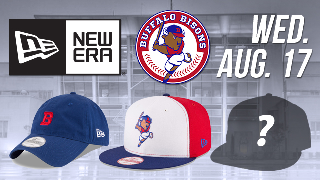 ecbbd6382b2 New Era designs limited edition Bisons caps for postgame  Meet n ...