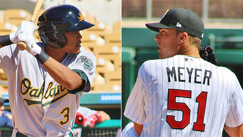 Addison Russell (Oakland) and Alex Meyer (Minnesota) make the squad.