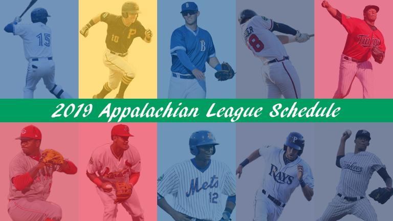 Appalachian League releases 2019 schedule