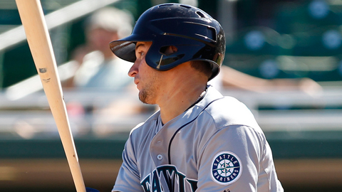 Catcher Mike Zunino is batting .250 with two homers this spring.