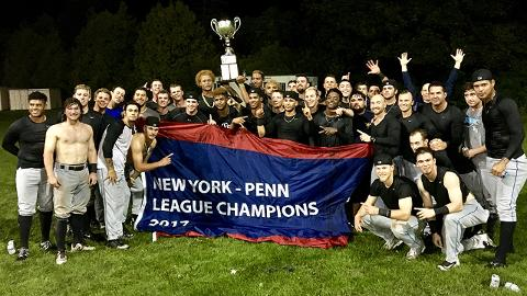 The Renegades last won the New York-Penn League championship in 2012.