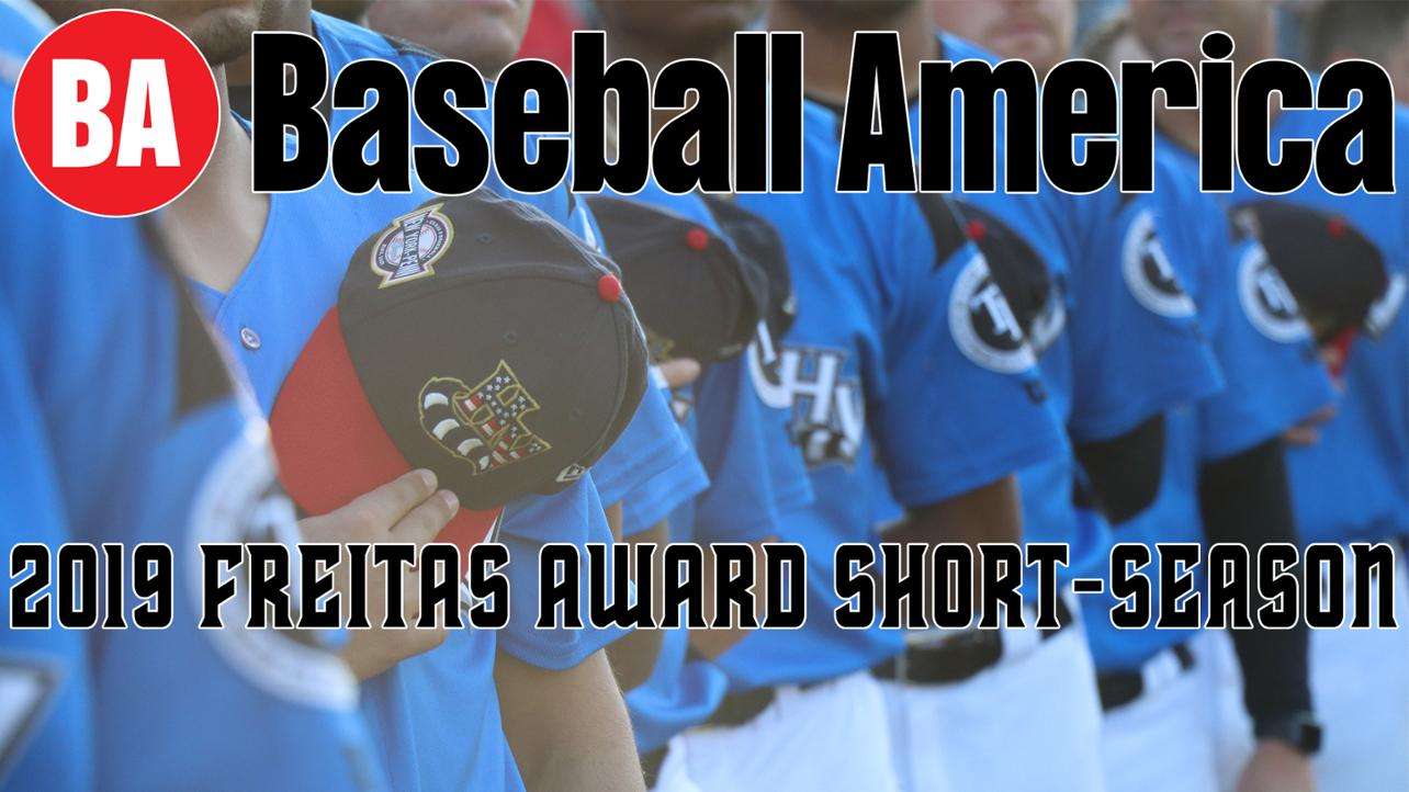 Renegades Win Prestigious Bob Freitas Award from Baseball America
