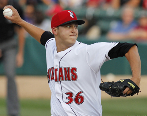 Jameson Taillon allowed just one hit over 5.0 scoreless on Friday night at Victory Field.
