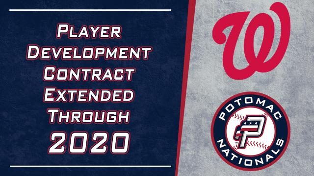 Nationals Schedule 2020.Washington Nationals Extend Player Development Contract With