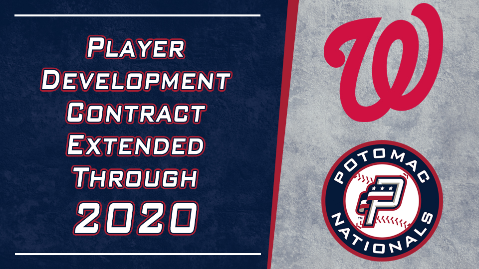 Washington Nationals Schedule 2020.Washington Nationals Extend Player Development Contract With