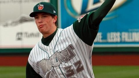 Max Fried tied a career high with eight strikeouts for Fort Wayne on Thursday.