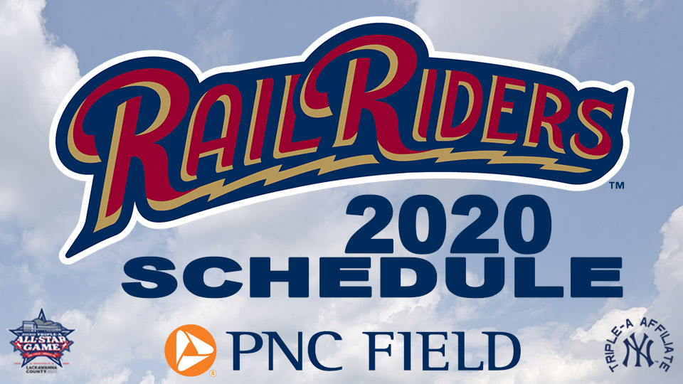 Railriders Schedule 2020 Hey Now: 2020 All Star Season Schedule Set | Scranton/Wilkes Barre