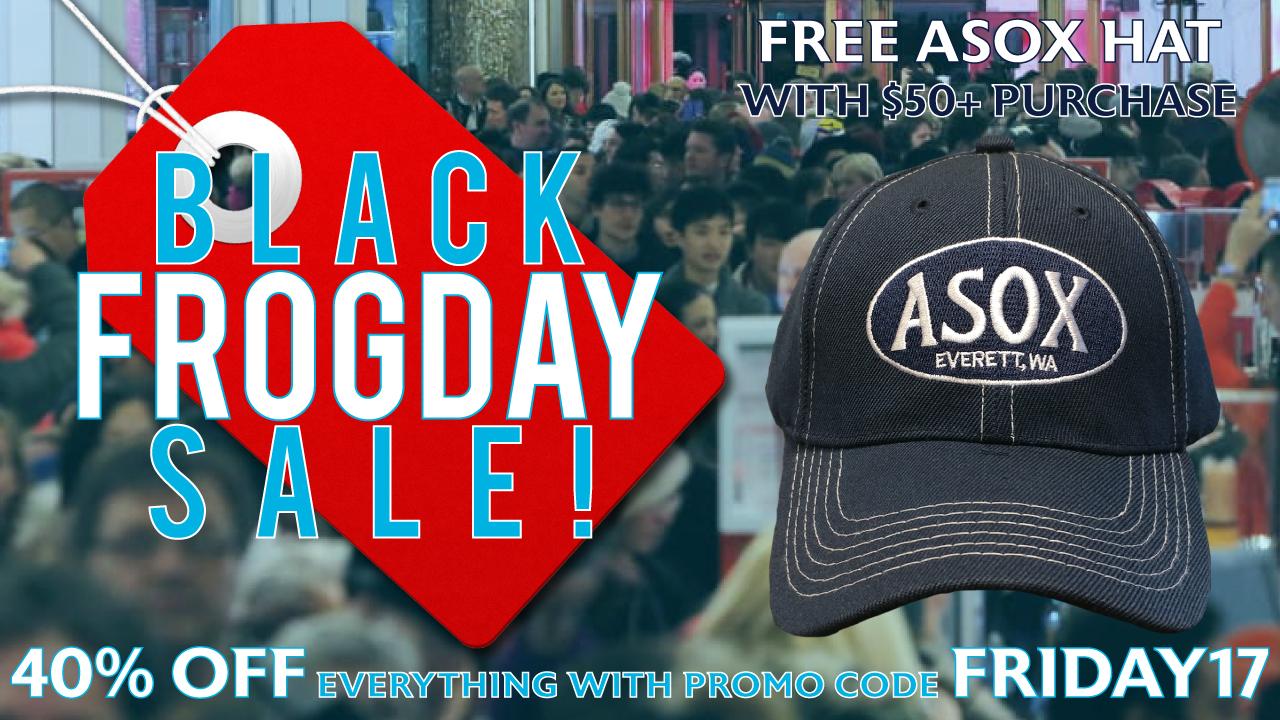 7f84a3f8847 Everett AquaSox - Black Frogday Sale
