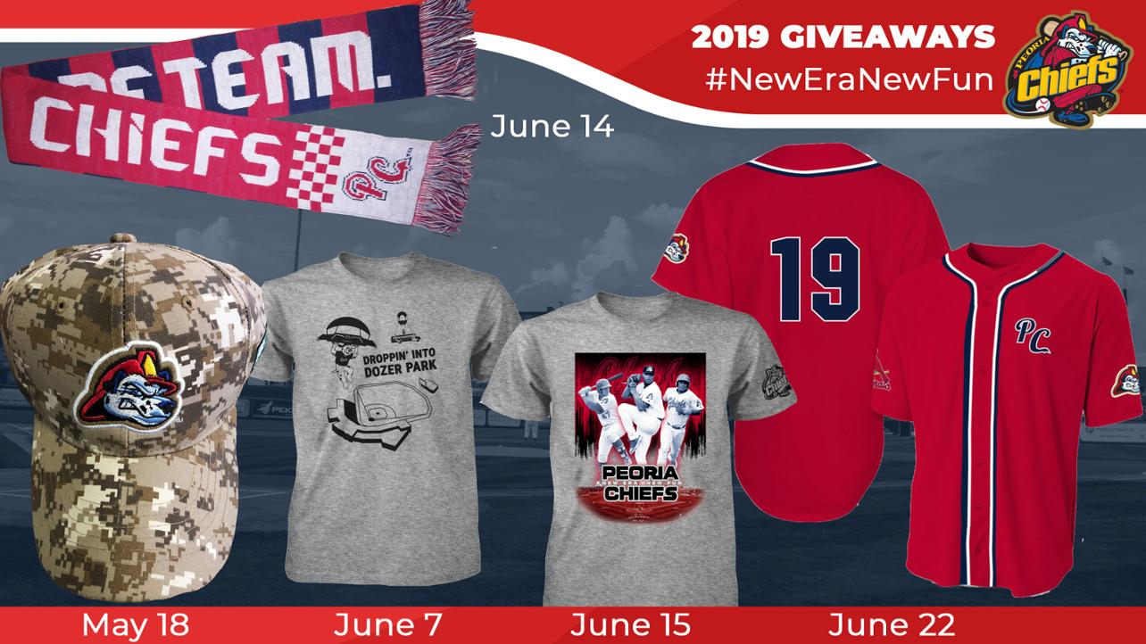 Chiefs Announce 2019 Giveaways