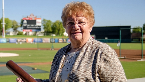 Joan McGrath was one of the Arizona Fall League's five original staff members in 1992.