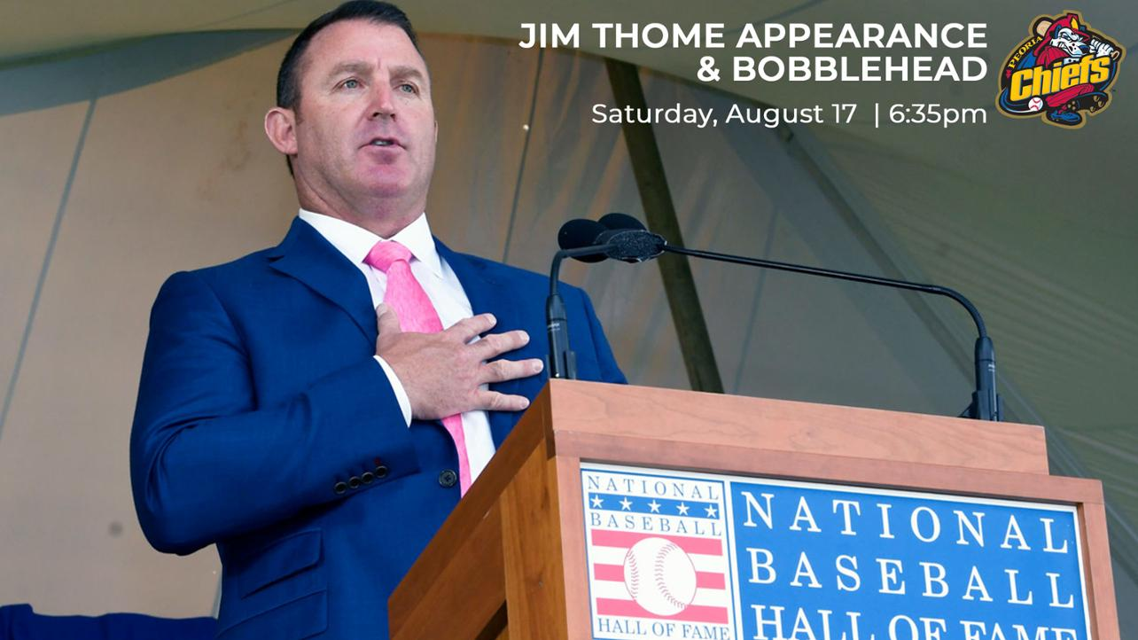 Thome Appearance & Bobblehead August 17