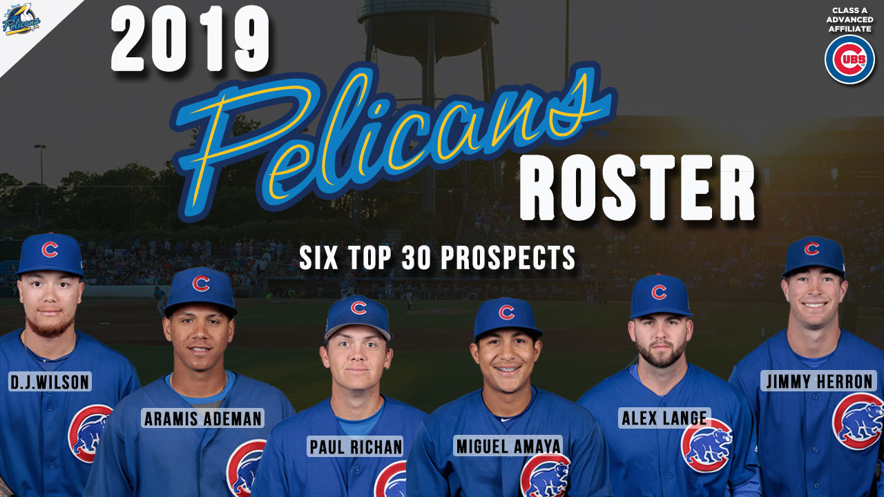 Myrtle Beach Pelicans 2019 Schedule Top prospects, familiar faces highlight 2019 Pelicans' Opening Day