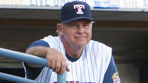 Larry Parrish began managing in the Minor Leagues in 1992.