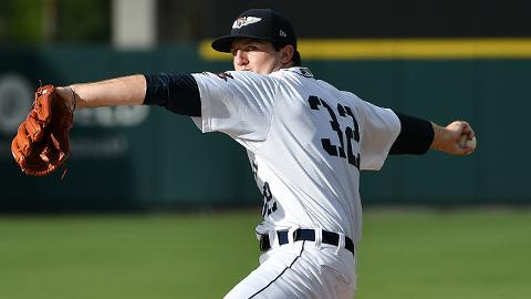 Casey Mize pitched 13 2/3 innings in his first Minor League season after throwing 114 2/3 at Auburn.
