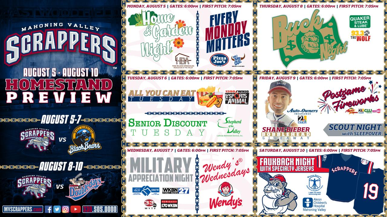 Jam Packed Six Game Homestand Ahead! | Mahoning Valley