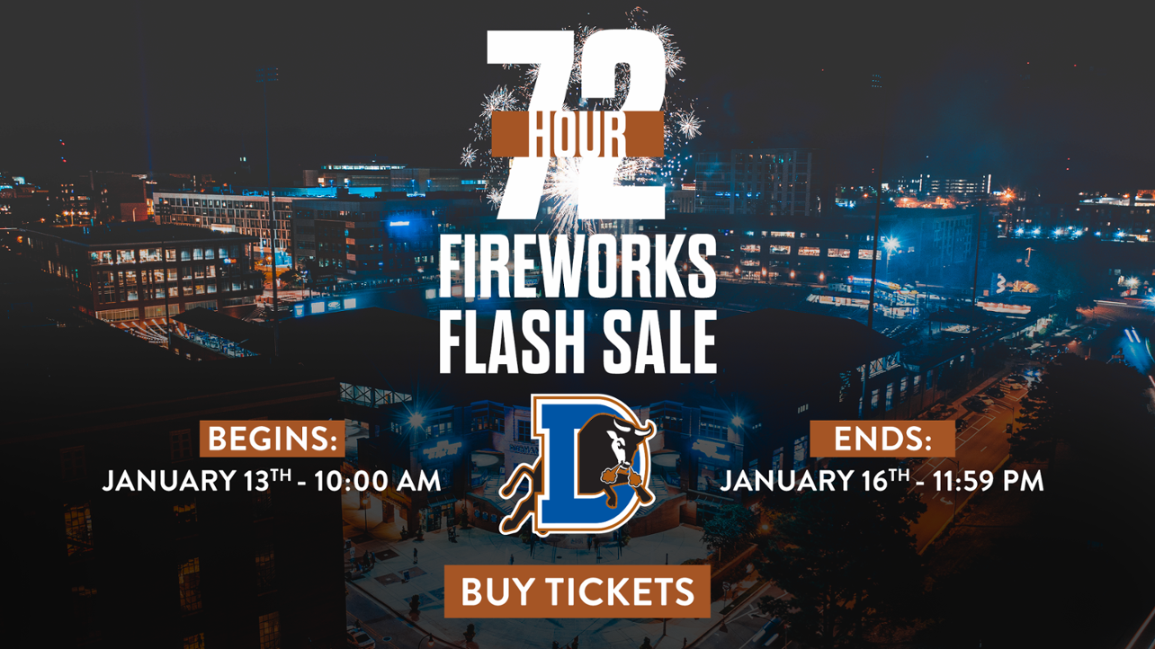 Fireworks Flash Sale