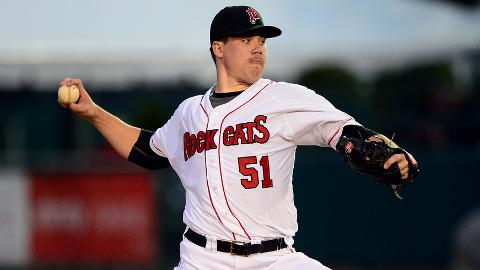 Trevor May has allowed one run or fewer in four of his seven starts.
