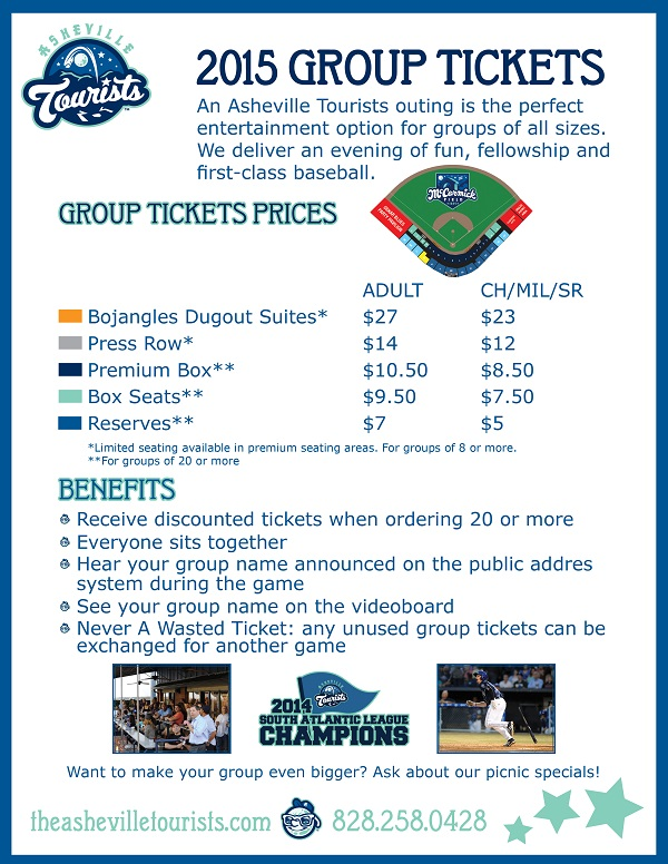 Group Tickets 98