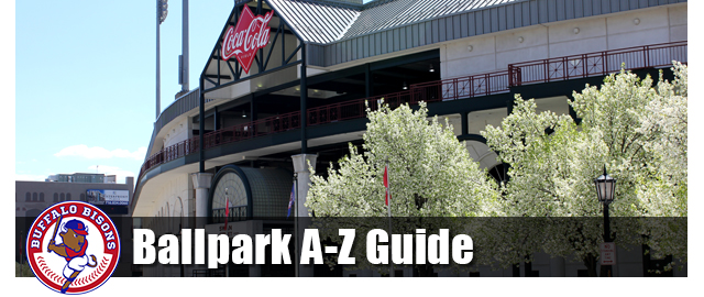 Bisons Ballpark A-Z Guide