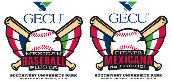 GECU Mexican Baseball Fiesta Logos