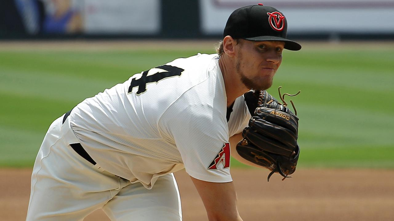 D Backs Atkinson Making A Name For Himself Milb News