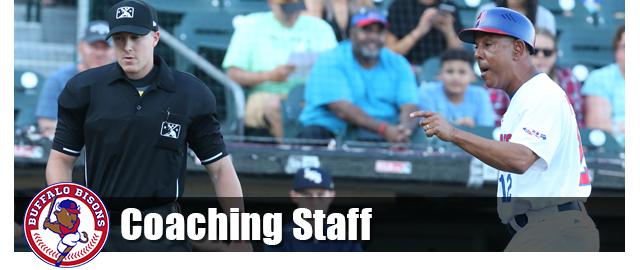 Bisons Coaching staff