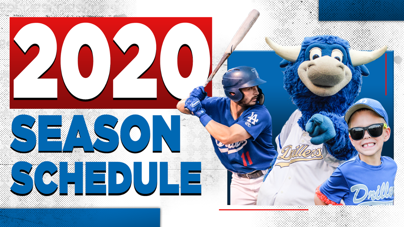 Drillers Announce 2020 Schedule and Home Game Times