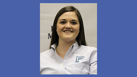 Abby Lyman started as an intern with the Pulaski Mariners in 2010.