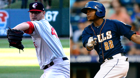 Anthony Ranaudo and Tim Beckham rank among the top 20 prospects in their respective systems.