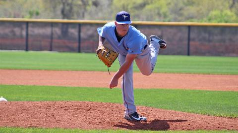 Through two outings, Brendan McKay has held Florida State League batters to a .111 average.