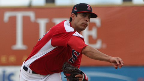 Noe Ramirez struck out 44 in 47 innings for Salem before his promotion to Portland.