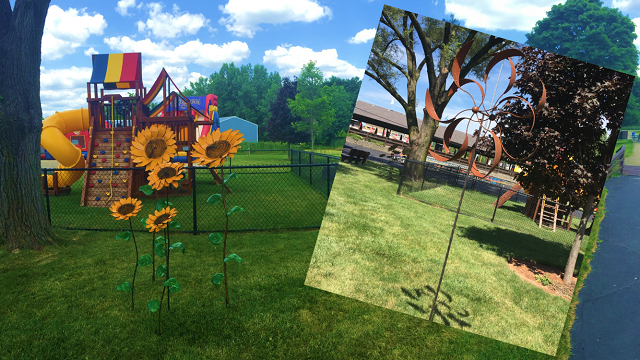 Cougars Music Garden Receives Artistic Addition | Kane County ...
