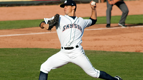 2012 Colorado Springs Sky Sox pitcher Christian Friedrich was MLB.com's third ranked Rockies' prospect in 2011.