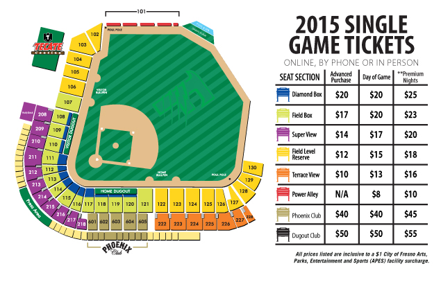 Fresno grizzlies stadium seating chart directions parking fresno